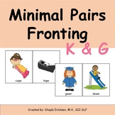 Minimal Pairs K and T, G and D | Fronting and Backing