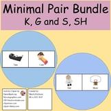 Minimal Pairs K and G, S and SH Bundle