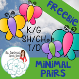 Articulation: Minimal Pairs K and G, T and D, CH and SH