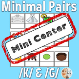 Minimal Pairs /K/ and /G/ for Speech Therapy