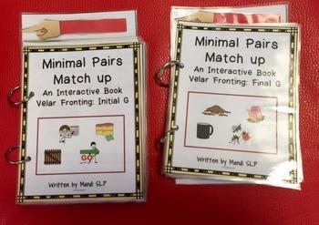 Minimal Pairs Matchup: Velar Fronting Inital and Final /g/