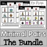 Speech Therapy |  Minimal Pairs | Bundle
