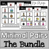 Minimal Pairs Bundle |  Speech Therapy | Distance Learning