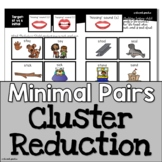 Minimal Pairs Cluster Reduction   Cycles Phonology for Pho