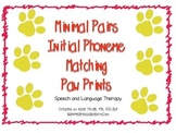 Minimal Pairs Phonemic/ Phonological Awareness Pawprint Pu