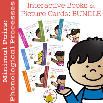 Minimal Pairs:  Phonological Processes Interactive Books and Pictures BUNDLE