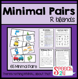 Minimal Pairs: R Blends, Cluster Reduction, Phonology
