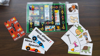 Minimal Pairs Race!: /s/ Blends