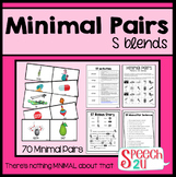 Minimal Pairs: /S/ Blends, Cluster Reduction Phonology