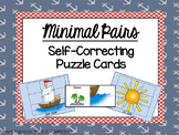 Speech Therapy Minimal Pairs S, SH Self-Correcting Puzzle Cards
