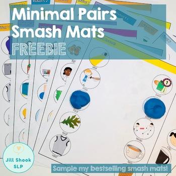 Minimal Pairs Smash Mats for Articulation & Phonology FREEBIE