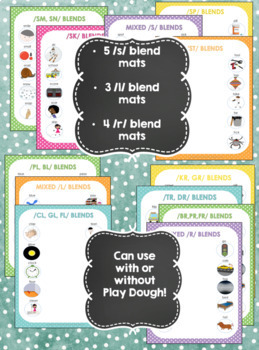 Minimal Pairs Smash Mats for Articulation & Phonology -  Cluster Reduction