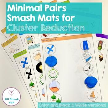 Minimal Pairs Smash Mats for Articulation & Phonology -  C