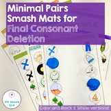 Minimal Pairs Smash Mats for Articulation & Phonology -Fin
