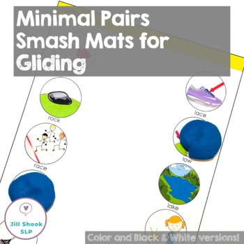 Minimal Pairs Smash Mats for Articulation & Phonology - /r