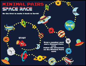 Minimal Pairs Space Race!: t/k and d/g