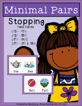 Phonological Process - Minimal Pairs - STOPPING