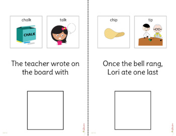 Minimal Pairs: Stopping Interactive Book and Pictures