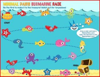Minimal Pairs Submarine Race
