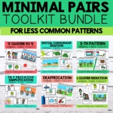 Minimal Pairs Toolkit Bundle for Less Common Patterns