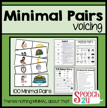 Minimal Pairs Voicing