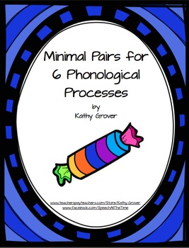 Minimal Pairs for 6 Phonological Processes