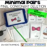 Minimal Pairs for Final Consonant Deletion Mini Bundle {Pr