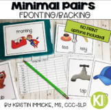 Minimal Pairs for Fronting Mini Bundle {Print & No Print} for Speech Therapy