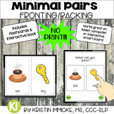 NO PRINT Minimal Pairs for Fronting for Speech Therapy