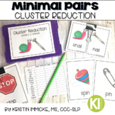 Minimal Pairs for Cluster Reduction Printable Cards for Sp