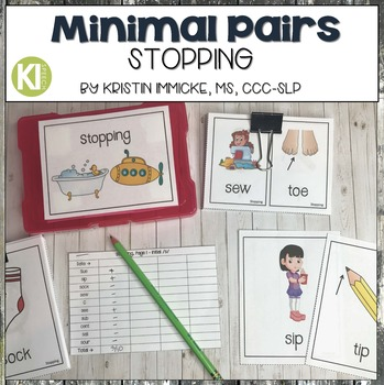 Minimal Pairs for Stopping