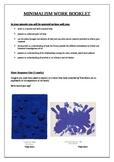 Minimalism Work Booklet