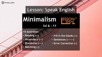 Minimalism lvl 6 - 11 (Distance Learning)
