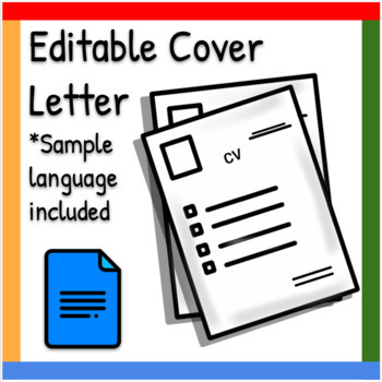 Minimalist Cover Letter New Graduate