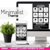 Minimalist Smart Class Website Doc (Google Slides Style!)