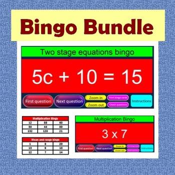 Bingo Bundle - Math