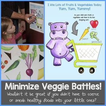 "Minimize Veggie Battles with ""Hippo Eats Fruits & Veggies!"""