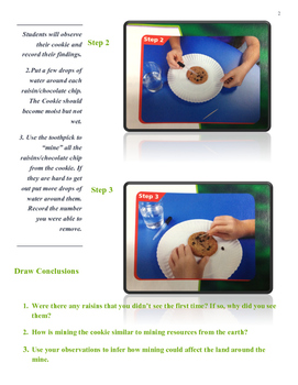 Mining A Cookie -- Natural Resources