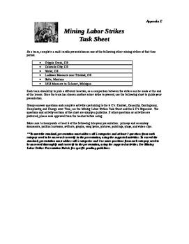 Mining Labor Strikes Unit