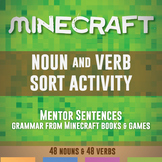 Noun and Verb Sort for Minecraft
