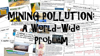 Mining Pollution: A World-Wide Problem