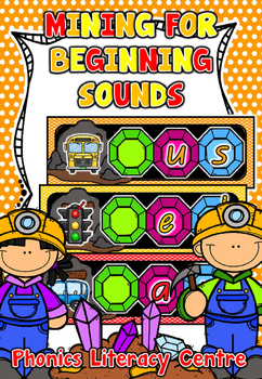 Mining for Beginning Sounds - Literacy Centre