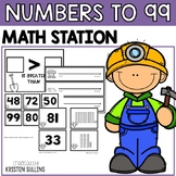 Numbers to 99 Math Stations