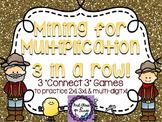 Mining for Multiplication (Single-Digit Multiplication by