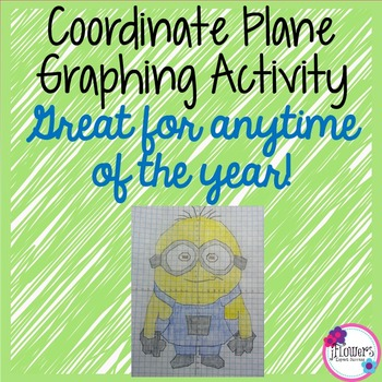 Coordinate Plane Graphing Activity! Great for the End of the Year!