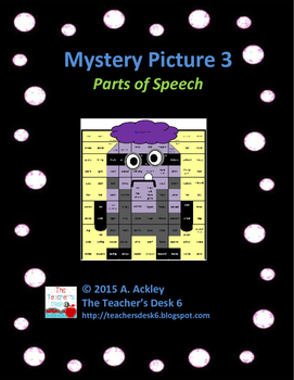 Mystery Picture 3 Parts of Speech