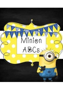 Minion Classroom ABC Word Wall