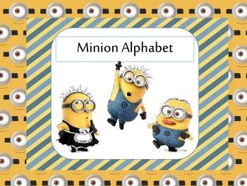 Minion Alphabet