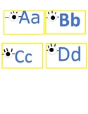 Minion Alphabet for Word Wall