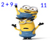 Minion Around the World Addition and Subtraction Mixed Review
